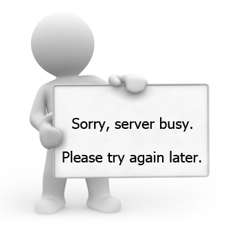 Sorry, server busy. Please try again later.